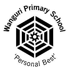 The original Wanguri Primary School logo