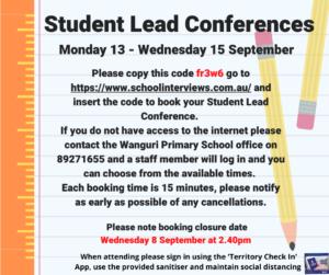 Student Lead Conferences